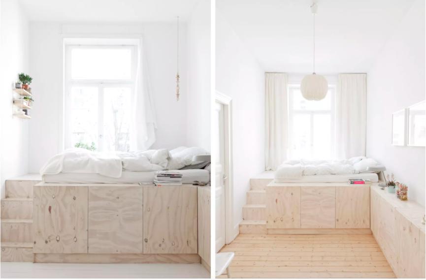 Những ý tưởng siêu thú vị và tiện ích bố trí giường gác xép cho căn hộ nhỏ - Ảnh 6.