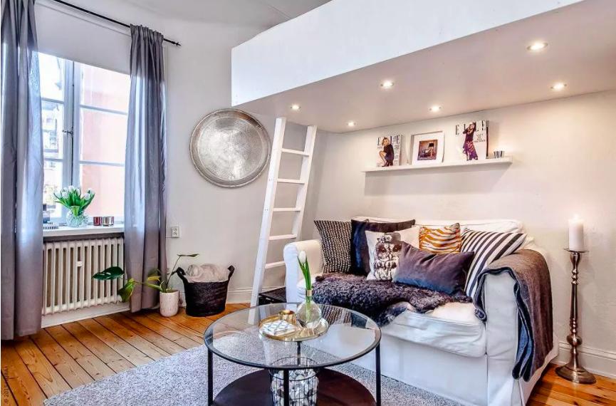 Những ý tưởng siêu thú vị và tiện ích bố trí giường gác xép cho căn hộ nhỏ - Ảnh 7.