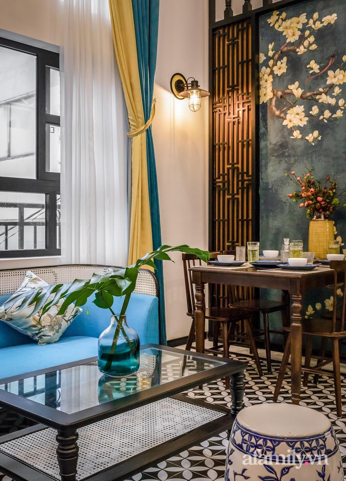 Cải tạo căn hộ tập thể 85m² thành không gian phảng phất vẻ đẹp Đông Dương với chi phí 700 triệu đồng ở Sài Gòn - Ảnh 10.