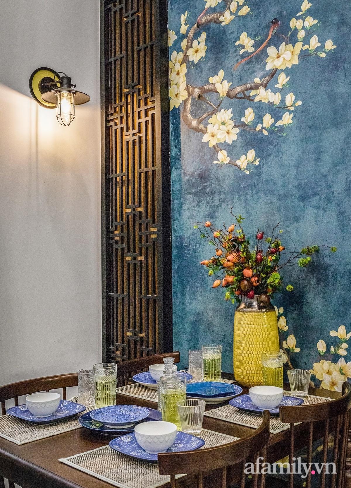 Cải tạo căn hộ tập thể 85m² thành không gian phảng phất vẻ đẹp Đông Dương với chi phí 700 triệu đồng ở Sài Gòn - Ảnh 11.