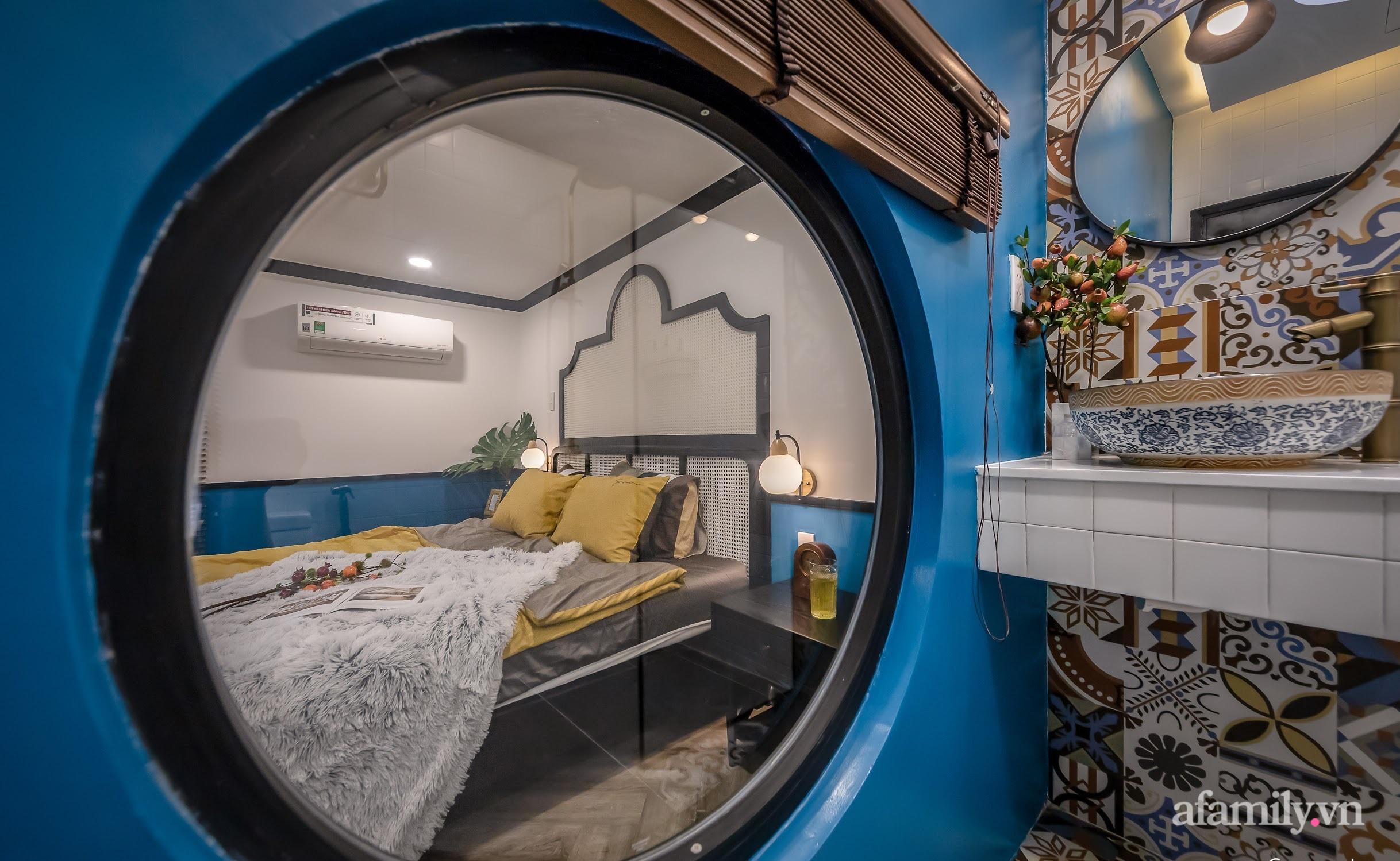 Cải tạo căn hộ tập thể 85m² thành không gian phảng phất vẻ đẹp Đông Dương với chi phí 700 triệu đồng ở Sài Gòn - Ảnh 17.