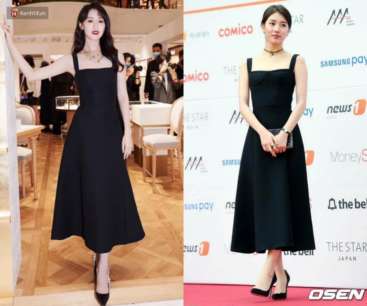 Viên Băng Nghiên diện lại váy cũ từ 3 năm trước nhưng vẫn sang lấn át Suzy khi đụng hàng - Ảnh 9.
