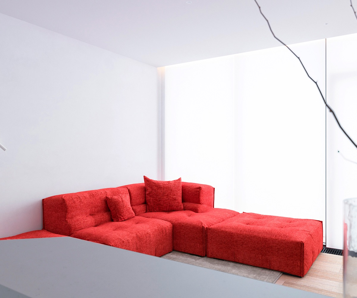Những căn hộ một sàn với tổng diện tích chưa đến 65m2 cùng thiết kế thú vị khiến bạn thích mê - Ảnh 21.
