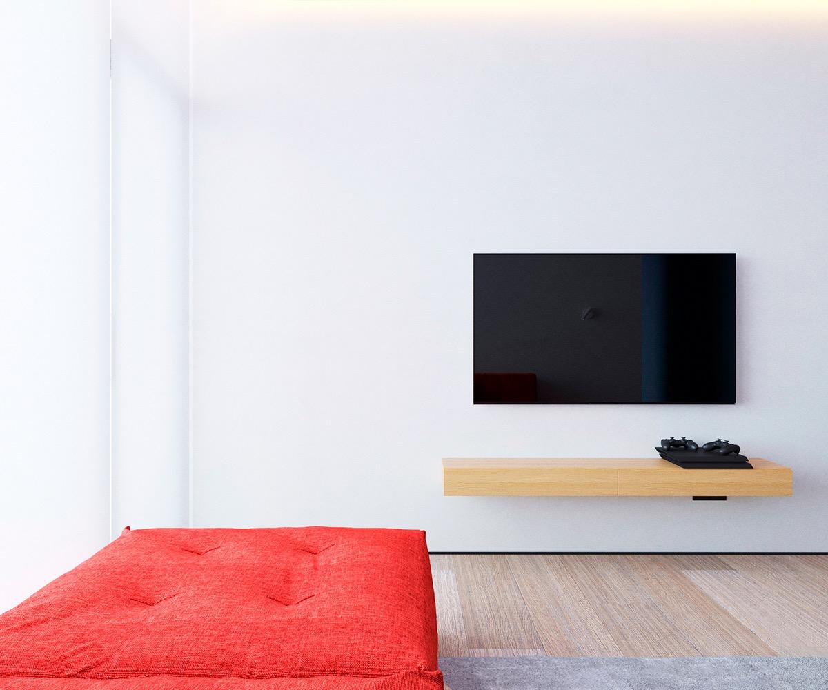 Những căn hộ một sàn với tổng diện tích chưa đến 65m2 cùng thiết kế thú vị khiến bạn thích mê - Ảnh 22.