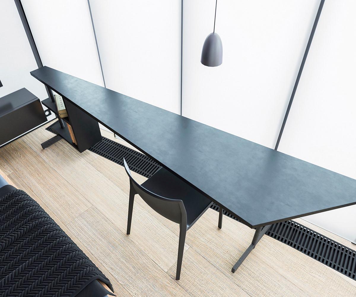 Những căn hộ một sàn với tổng diện tích chưa đến 65m2 cùng thiết kế thú vị khiến bạn thích mê - Ảnh 25.