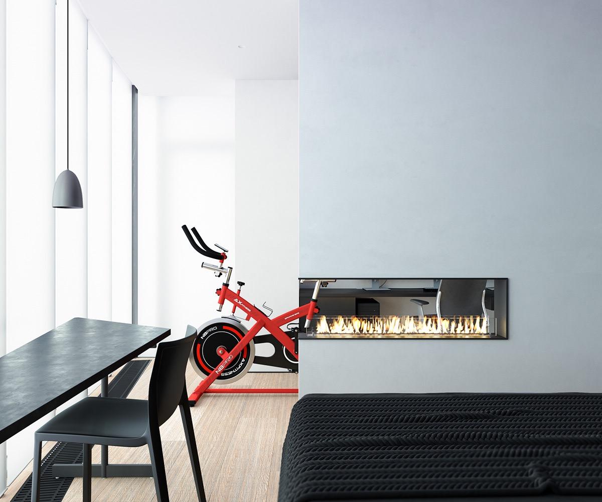 Những căn hộ một sàn với tổng diện tích chưa đến 65m2 cùng thiết kế thú vị khiến bạn thích mê - Ảnh 26.