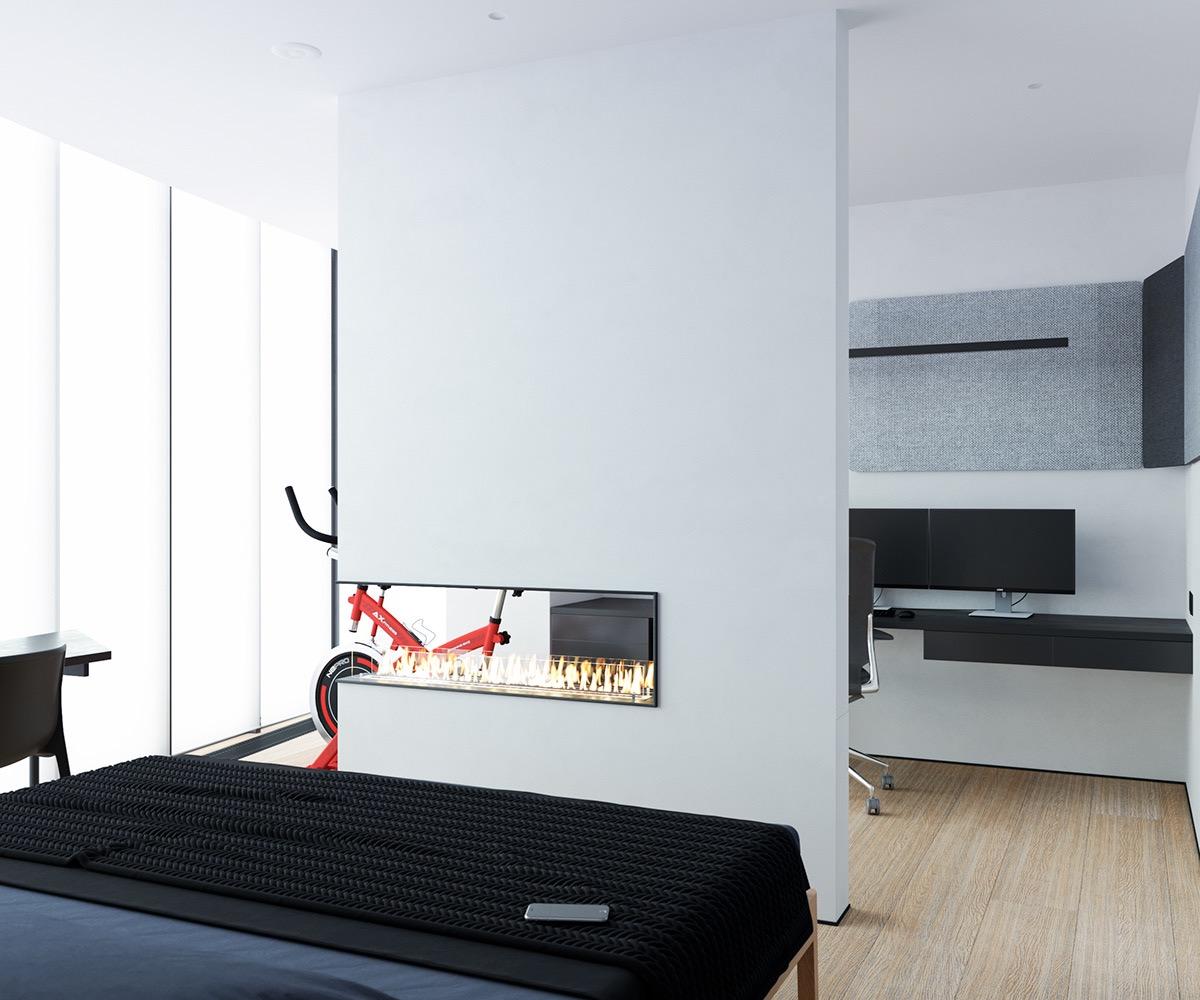 Những căn hộ một sàn với tổng diện tích chưa đến 65m2 cùng thiết kế thú vị khiến bạn thích mê - Ảnh 27.