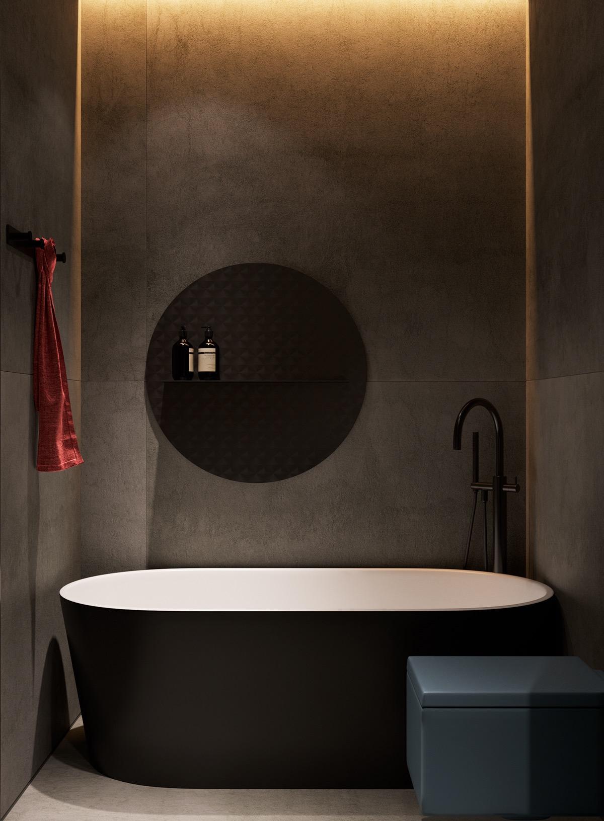 Những căn hộ một sàn với tổng diện tích chưa đến 65m2 cùng thiết kế thú vị khiến bạn thích mê - Ảnh 28.