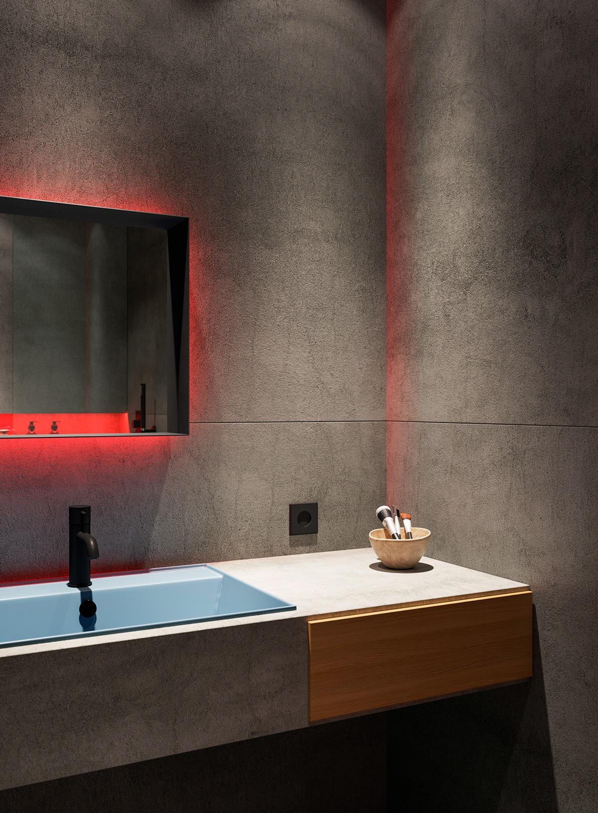 Những căn hộ một sàn với tổng diện tích chưa đến 65m2 cùng thiết kế thú vị khiến bạn thích mê - Ảnh 30.