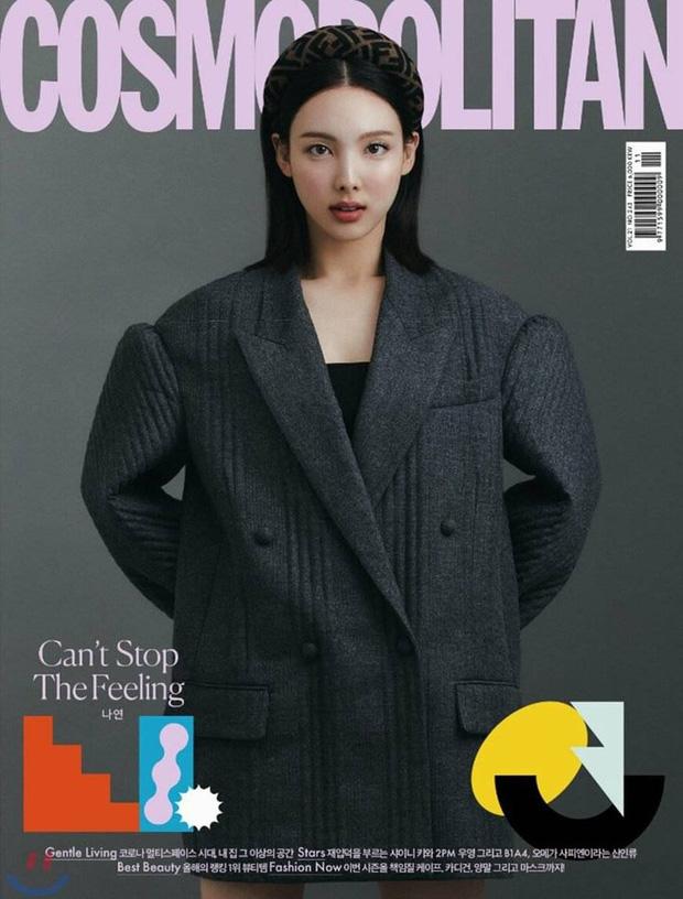 Nayeon xinh nhưng cố mãi không sang chảnh lên được, nhìn bộ ảnh tạp chí mới mà netizen chỉ biết thở dài - Ảnh 2.