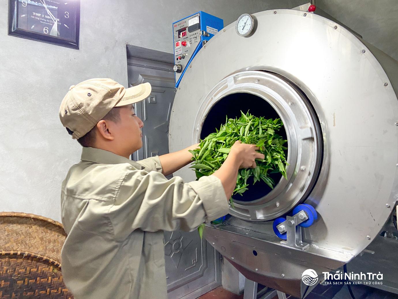 Thứ trà xanh làm từ cây chè sống nửa thế kỷ ở Thái Nguyên, giữ trọn hương vị truyền thống, ai uống cũng mê - Ảnh 3.