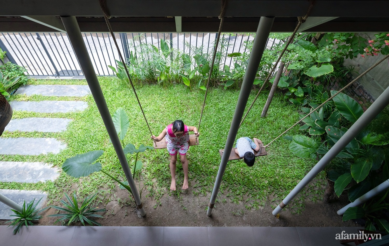 Ngôi nhà màu xanh mát mắt không cần dùng đến điều hòa tọa lạc ngay giữa thành phố của gió Lào và nắng cháy – Vinh - Ảnh 8.