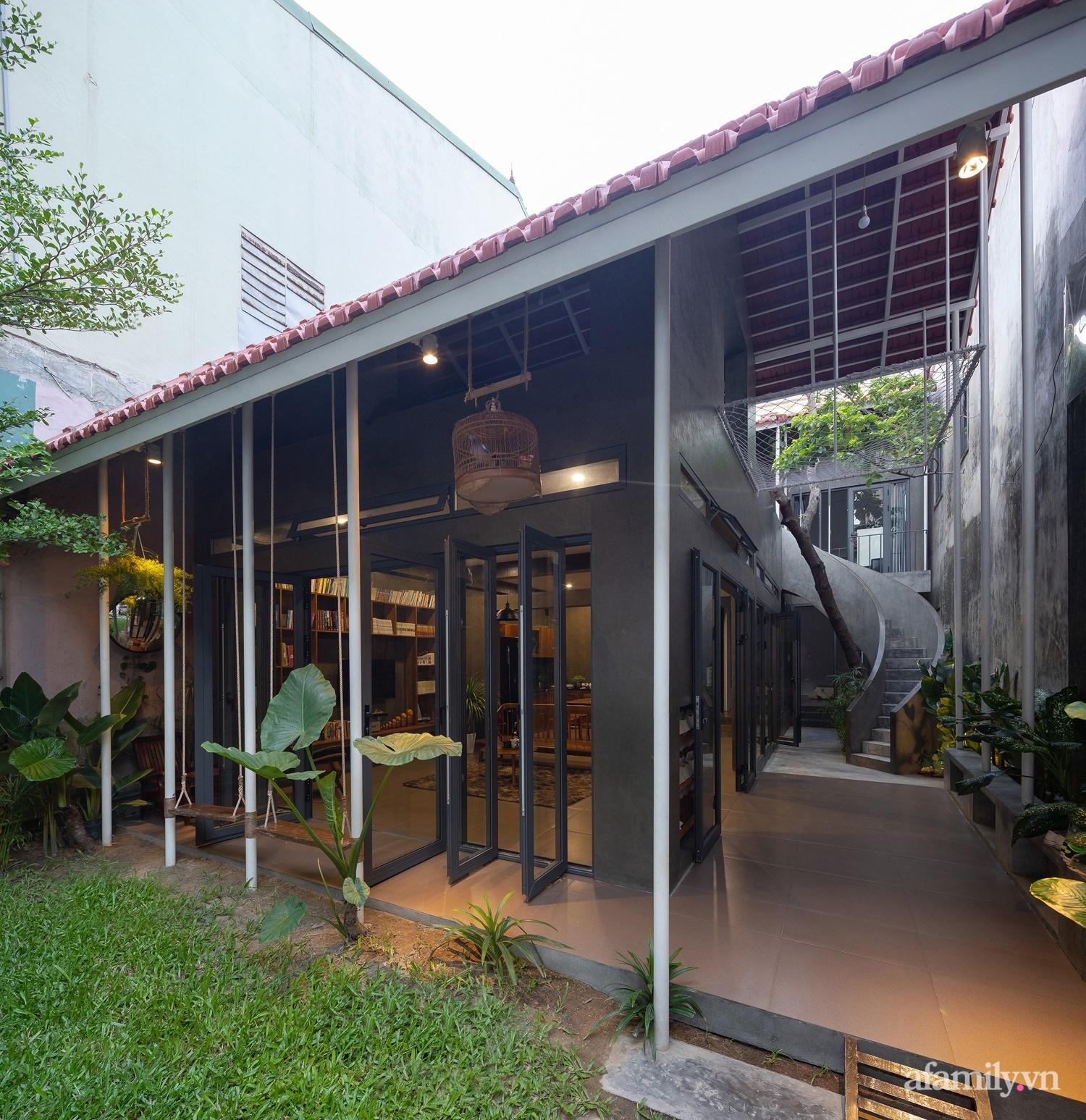 Ngôi nhà màu xanh mát mắt không cần dùng đến điều hòa tọa lạc ngay giữa thành phố của gió Lào và nắng cháy – Vinh - Ảnh 13.