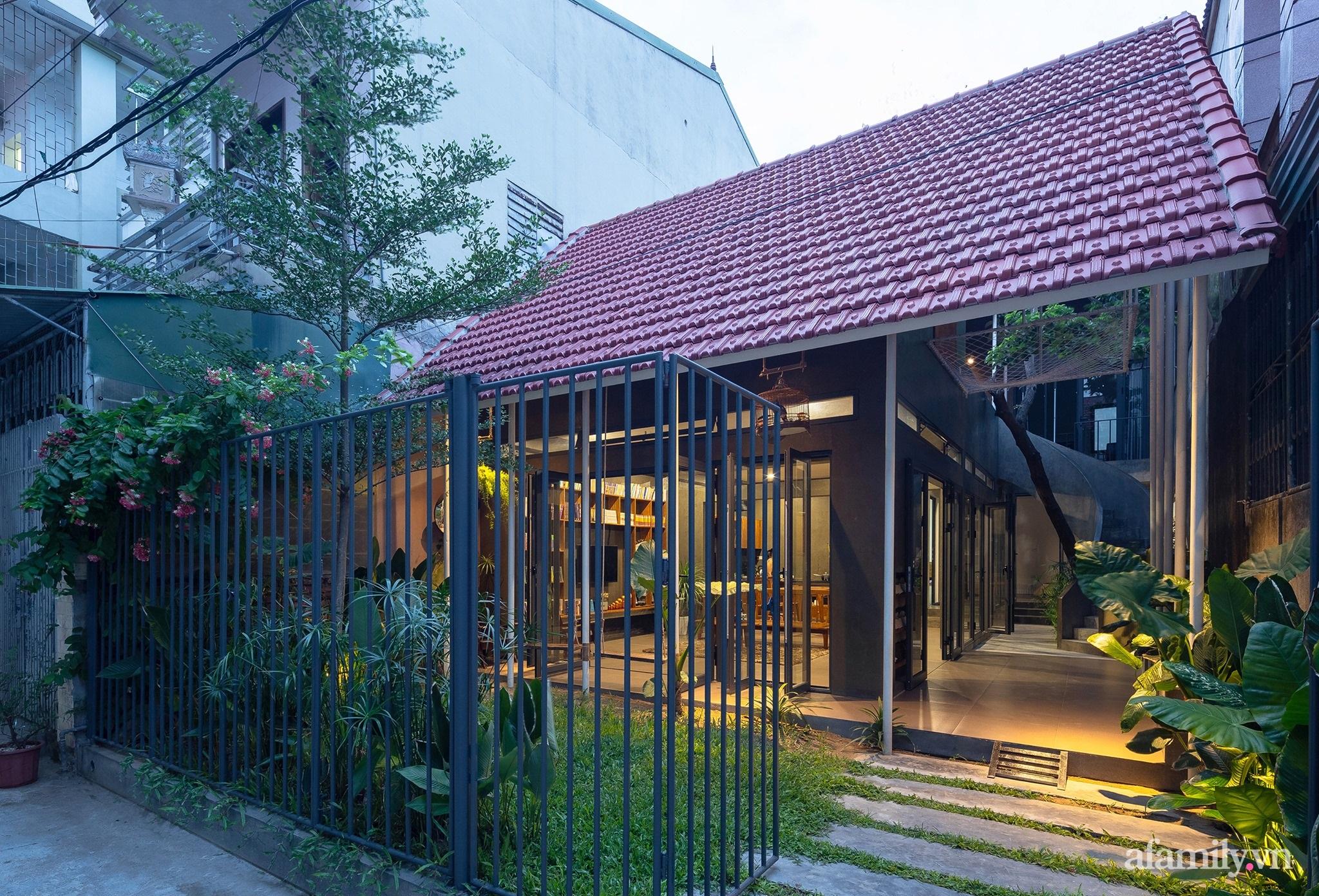 Ngôi nhà màu xanh mát mắt không cần dùng đến điều hòa tọa lạc ngay giữa thành phố của gió Lào và nắng cháy – Vinh - Ảnh 3.