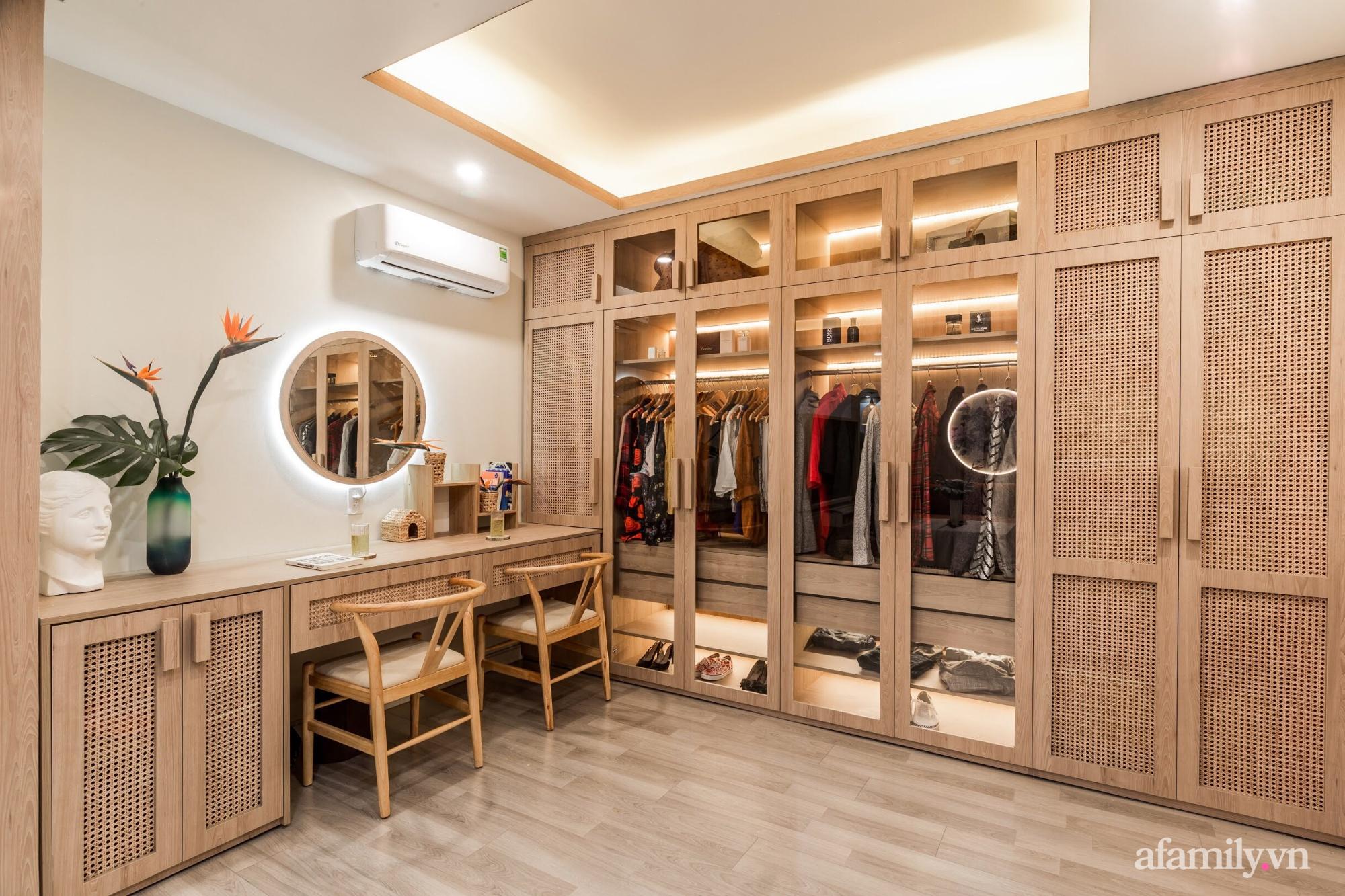 """Căn hộ 75m² """"ghi điểm"""" với thiết kế phong cách Nhật tinh tế có chi phí hoàn thiện 400 triệu đồng ở Sài Gòn - Ảnh 8."""