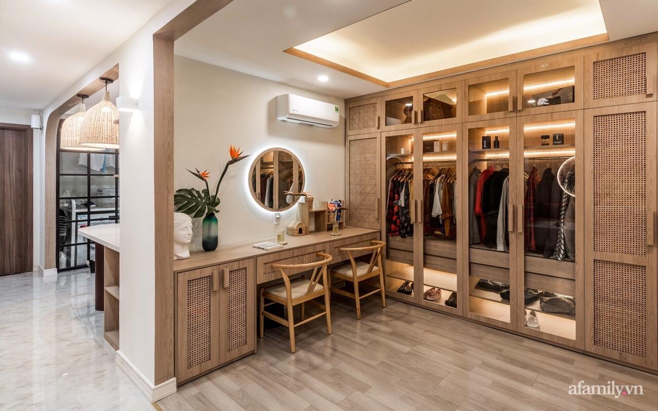 """Căn hộ 75m² """"ghi điểm"""" với thiết kế phong cách Nhật tinh tế có chi phí hoàn thiện 400 triệu đồng ở Sài Gòn - Ảnh 9."""