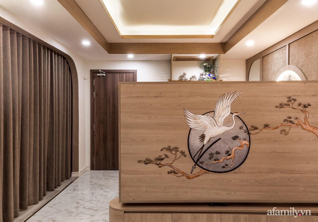 """Căn hộ 75m² """"ghi điểm"""" với thiết kế phong cách Nhật tinh tế có chi phí hoàn thiện 400 triệu đồng ở Sài Gòn - Ảnh 4."""