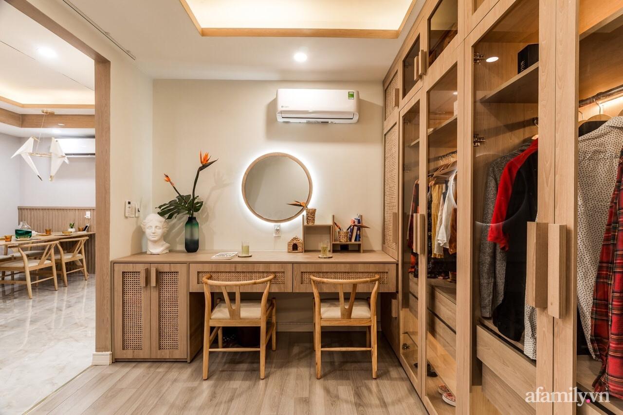 """Căn hộ 75m² """"ghi điểm"""" với thiết kế phong cách Nhật tinh tế có chi phí hoàn thiện 400 triệu đồng ở Sài Gòn - Ảnh 7."""