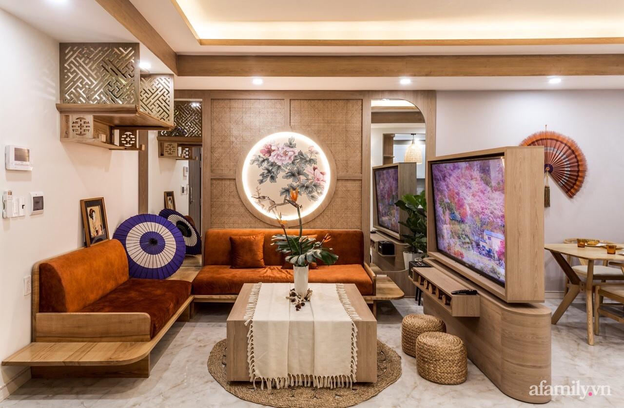 """Căn hộ 75m² """"ghi điểm"""" với thiết kế phong cách Nhật tinh tế có chi phí hoàn thiện 400 triệu đồng ở Sài Gòn - Ảnh 2."""