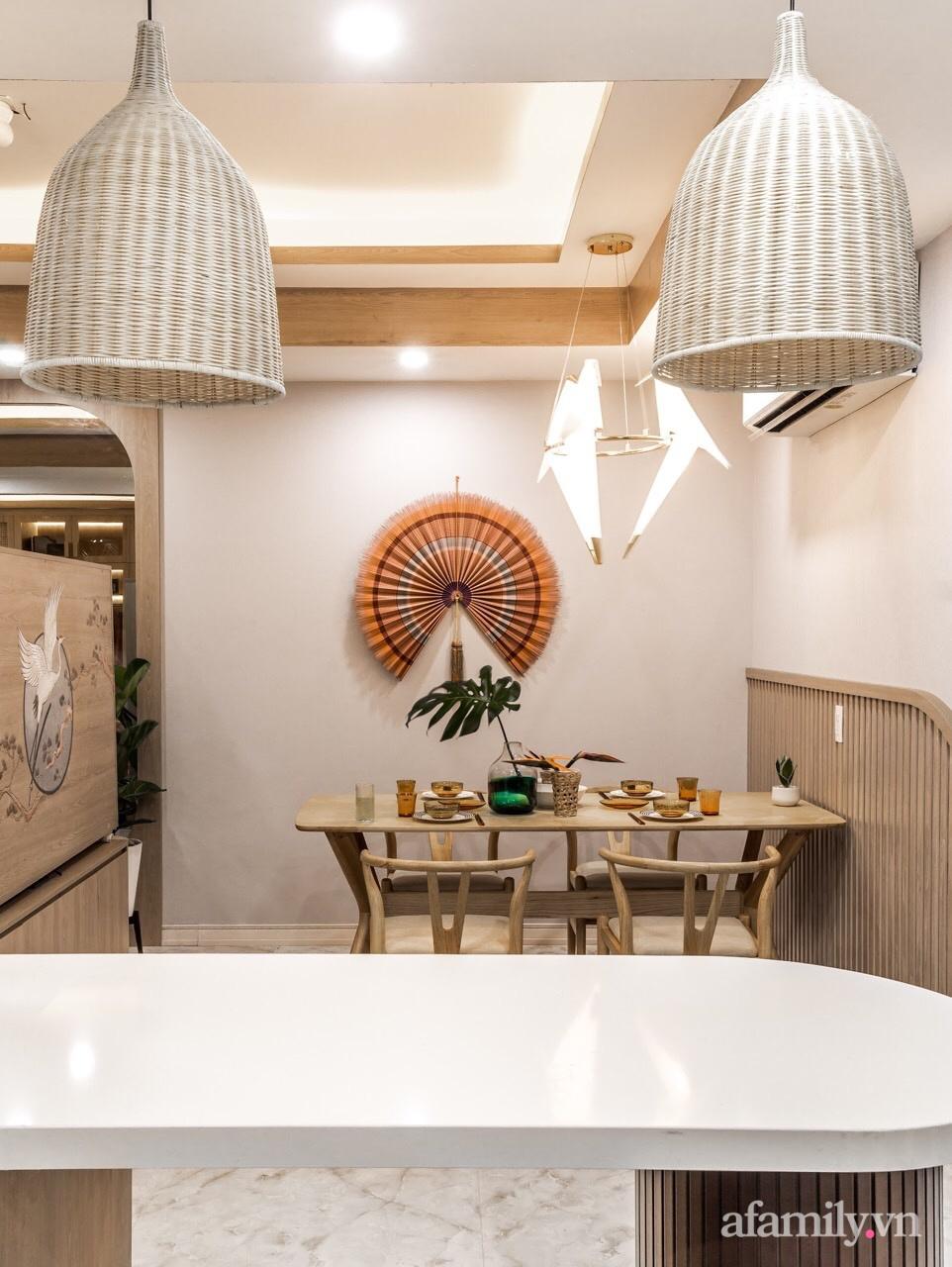 """Căn hộ 75m² """"ghi điểm"""" với thiết kế phong cách Nhật tinh tế có chi phí hoàn thiện 400 triệu đồng ở Sài Gòn - Ảnh 15."""
