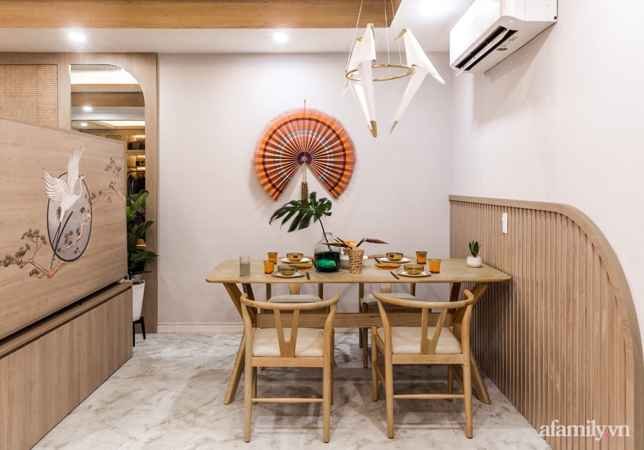"""Căn hộ 75m² """"ghi điểm"""" với thiết kế phong cách Nhật tinh tế có chi phí hoàn thiện 400 triệu đồng ở Sài Gòn - Ảnh 13."""