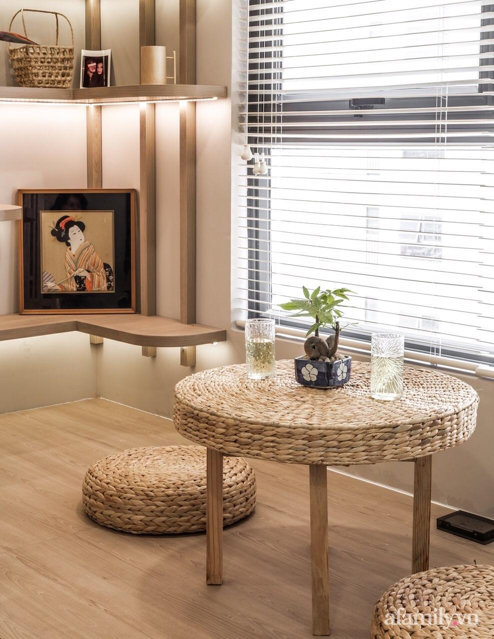 """Căn hộ 75m² """"ghi điểm"""" với thiết kế phong cách Nhật tinh tế có chi phí hoàn thiện 400 triệu đồng ở Sài Gòn - Ảnh 17."""