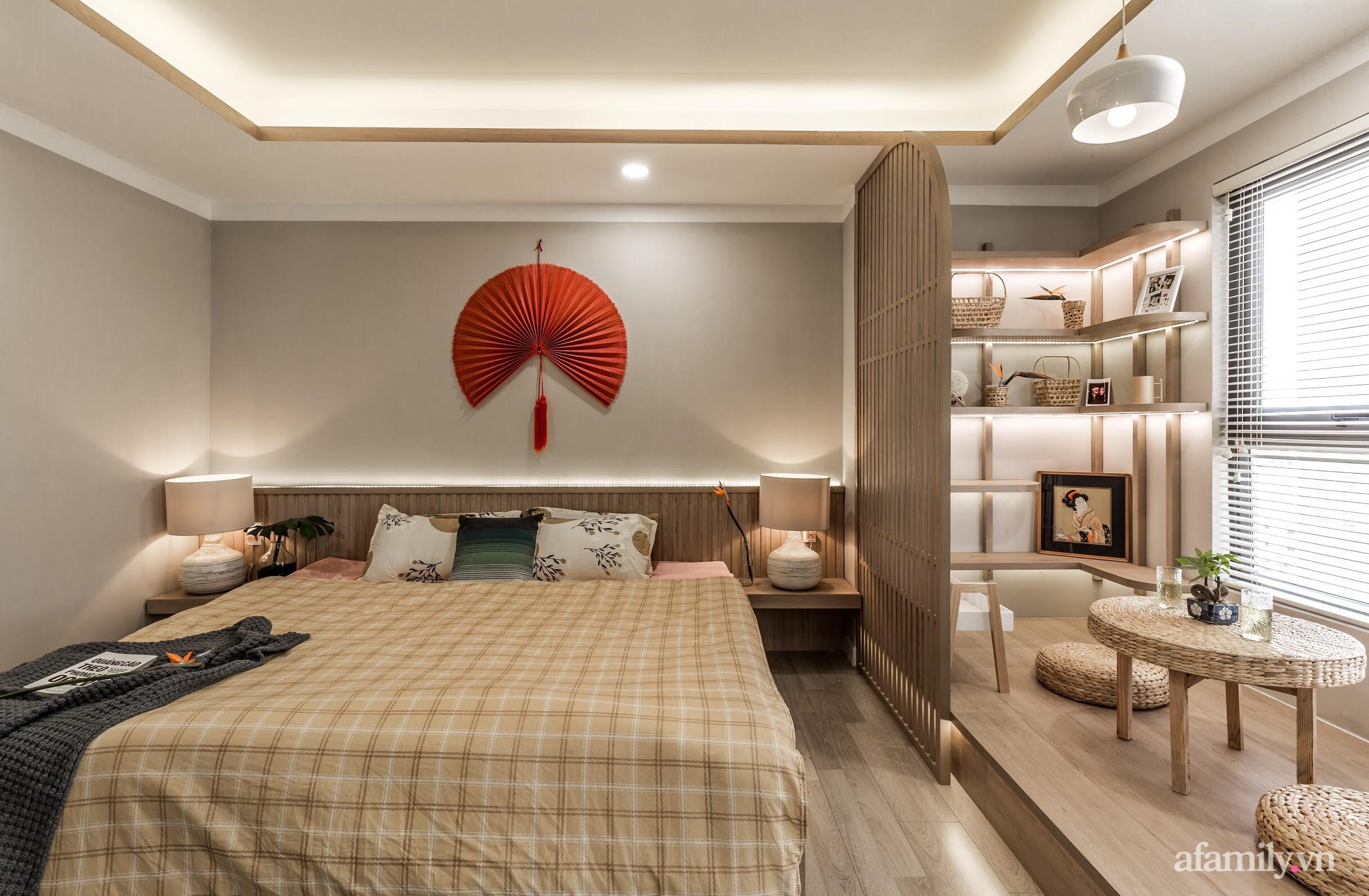 """Căn hộ 75m² """"ghi điểm"""" với thiết kế phong cách Nhật tinh tế có chi phí hoàn thiện 400 triệu đồng ở Sài Gòn - Ảnh 16."""