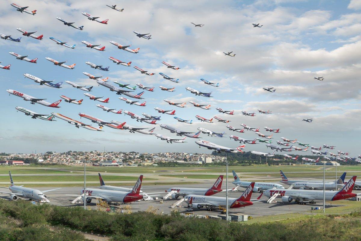Có một số sân bay thực sự rất khó để được chụp ảnh