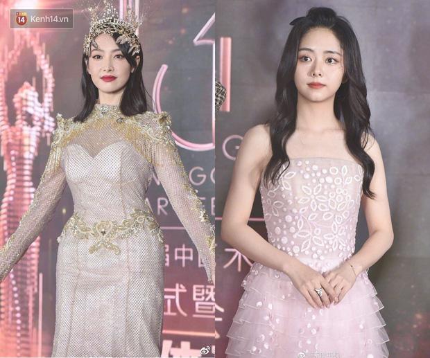 Mất ngôi Nữ thần Kim Ưng vào tay Tống Thiến nhưng Đàm Tùng Vận lại áp đảo về style và makeup - Ảnh 6.