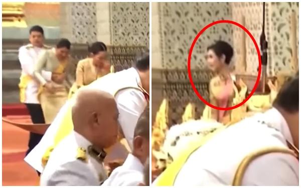 Hoàng tử Thái Lan gây chú ý khi nhấc bổng chị gái trong lễ tưởng niệm cố vương, đặc biệt hơn là thái độ của Hoàng quý phi khi chứng kiến sự việc - Ảnh 2.