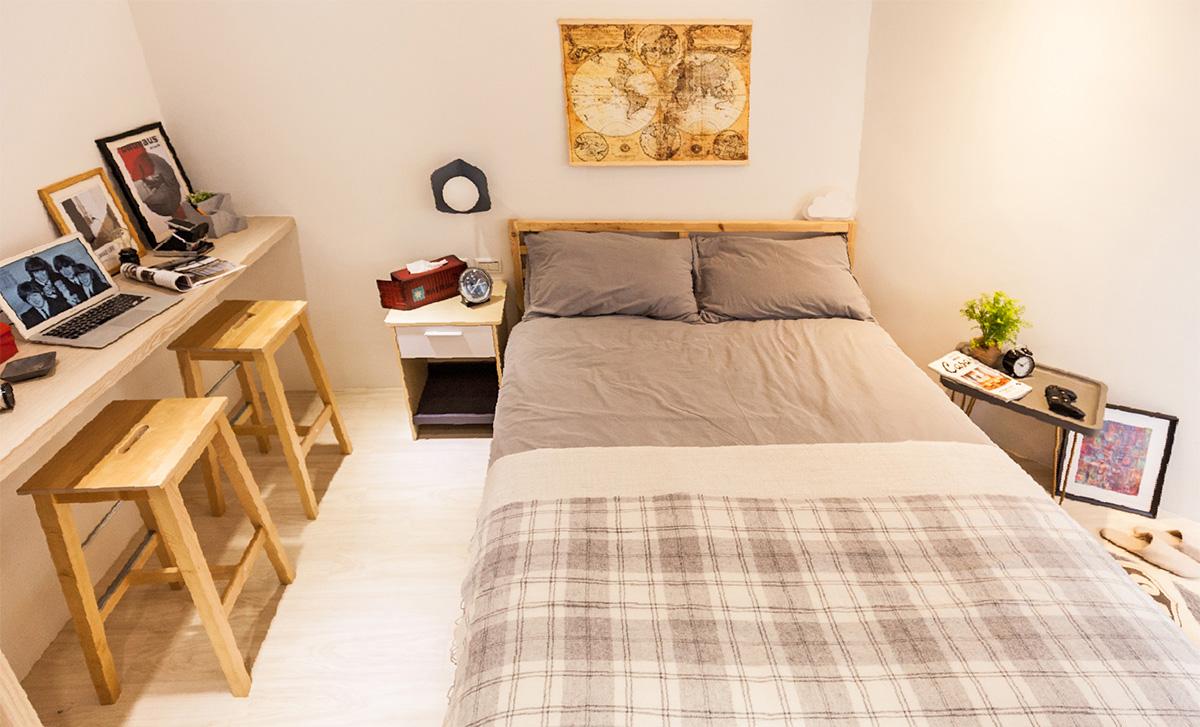 Bóc giá phòng ngủ cải tạo theo phong cách Bắc Âu đẹp lôi cuốn từng góc nhỏ chỉ... triệu đồng - Ảnh 10.