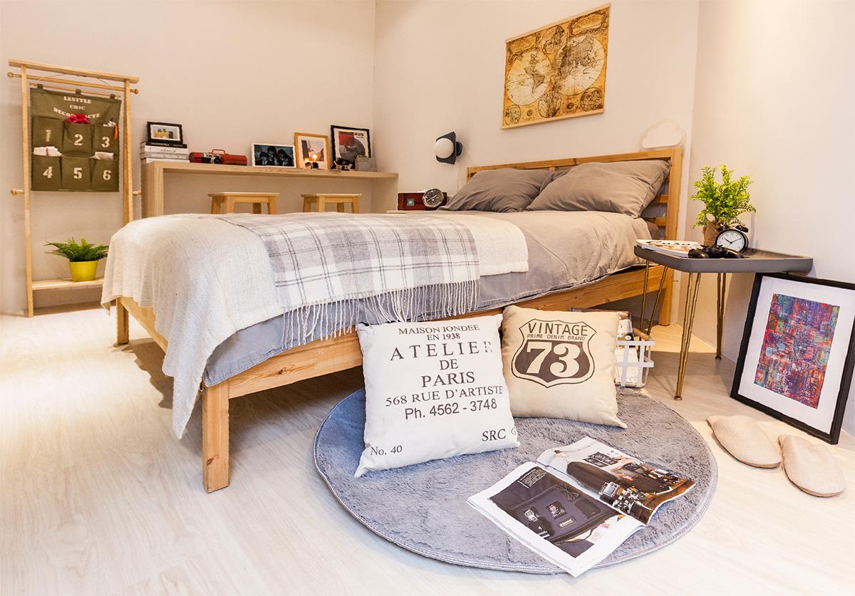Bóc giá phòng ngủ cải tạo theo phong cách Bắc Âu đẹp lôi cuốn từng góc nhỏ chỉ... triệu đồng - Ảnh 9.