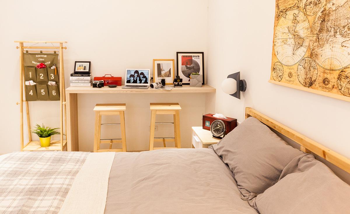 Bóc giá phòng ngủ cải tạo theo phong cách Bắc Âu đẹp lôi cuốn từng góc nhỏ chỉ... triệu đồng - Ảnh 7.