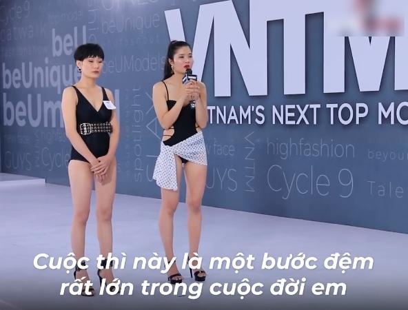 """Vietnam's Next Top Model: Nữ thí sinh """"cù nhây"""" xin xỏ được chọn, khiến giám khảo nổi giận, mắng té tát vào mặt - Ảnh 9."""