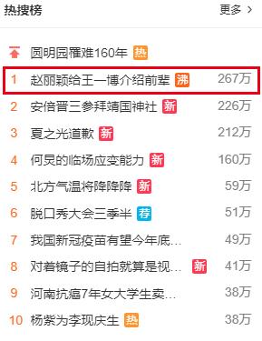 No.1 hot search Weibo: Triệu Lệ Dĩnh đích thực là đàn chị số 1 Cbiz khi liên tục làm điều này cho Vương Nhất Bác - Ảnh 1.