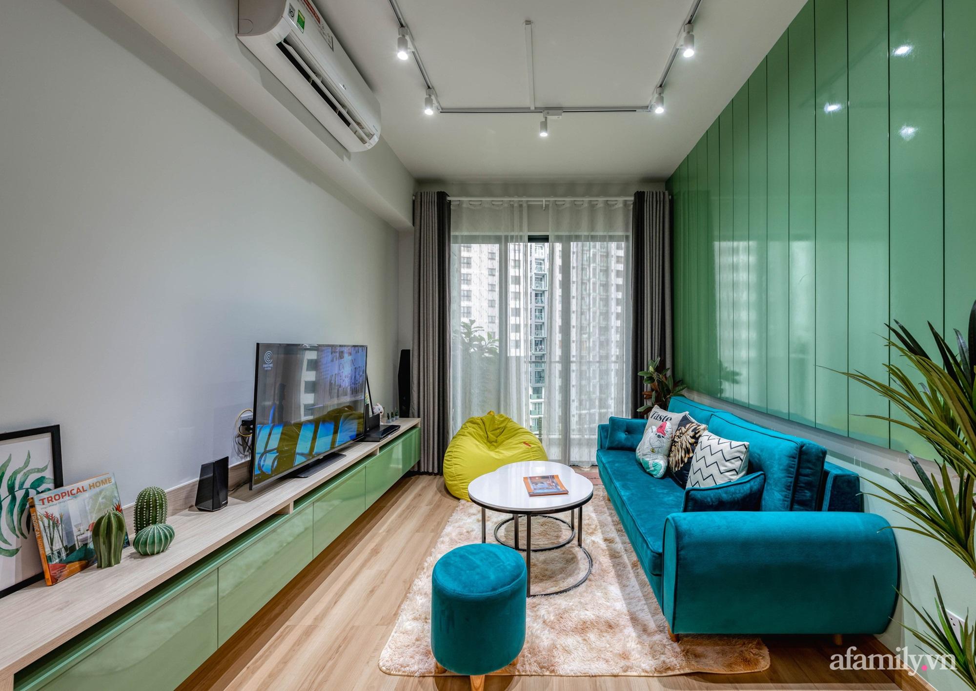 Căn hộ 69m² tạo dấu ấn đặc biệt với phong cách Tropical có chi phí thi công 180 triệu đồng ở Sài Gòn - Ảnh 7.