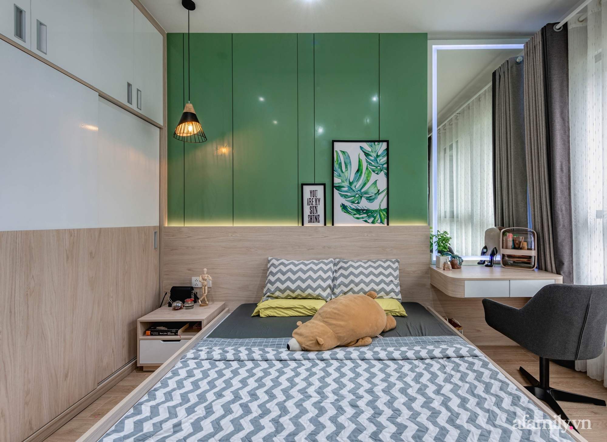 Căn hộ 69m² tạo dấu ấn đặc biệt với phong cách Tropical có chi phí thi công 180 triệu đồng ở Sài Gòn - Ảnh 13.