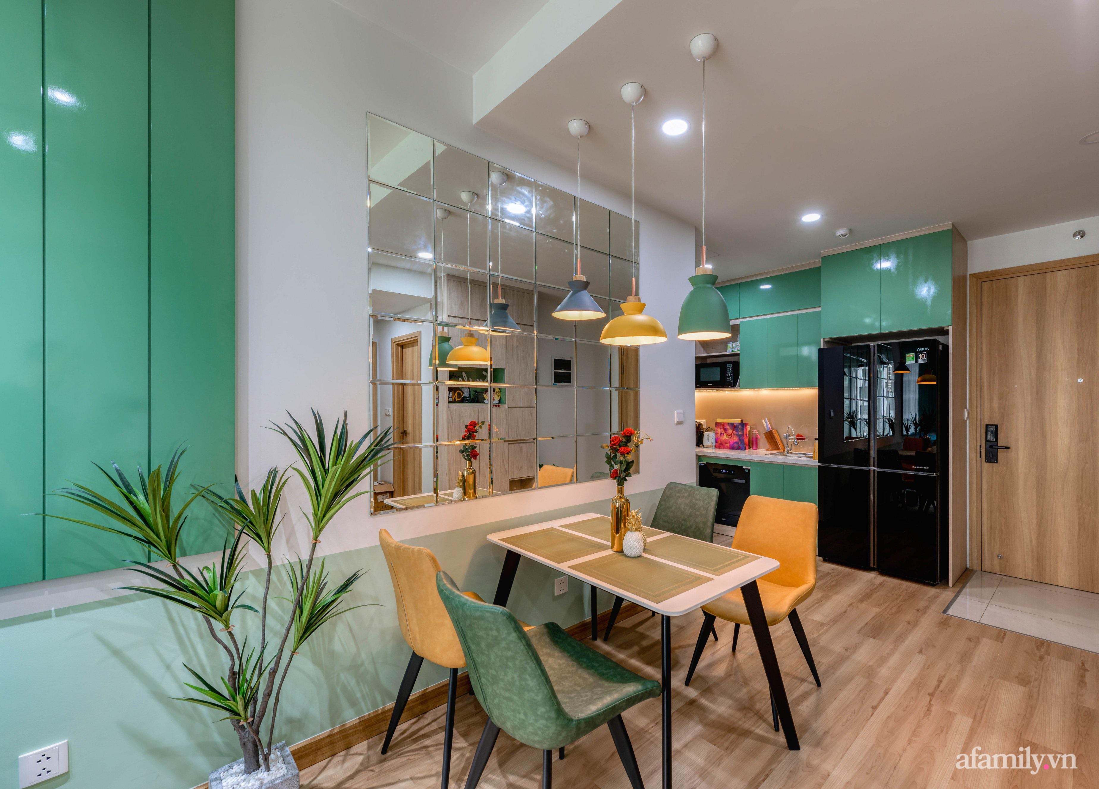 Căn hộ 69m² tạo dấu ấn đặc biệt với phong cách Tropical có chi phí thi công 180 triệu đồng ở Sài Gòn - Ảnh 9.