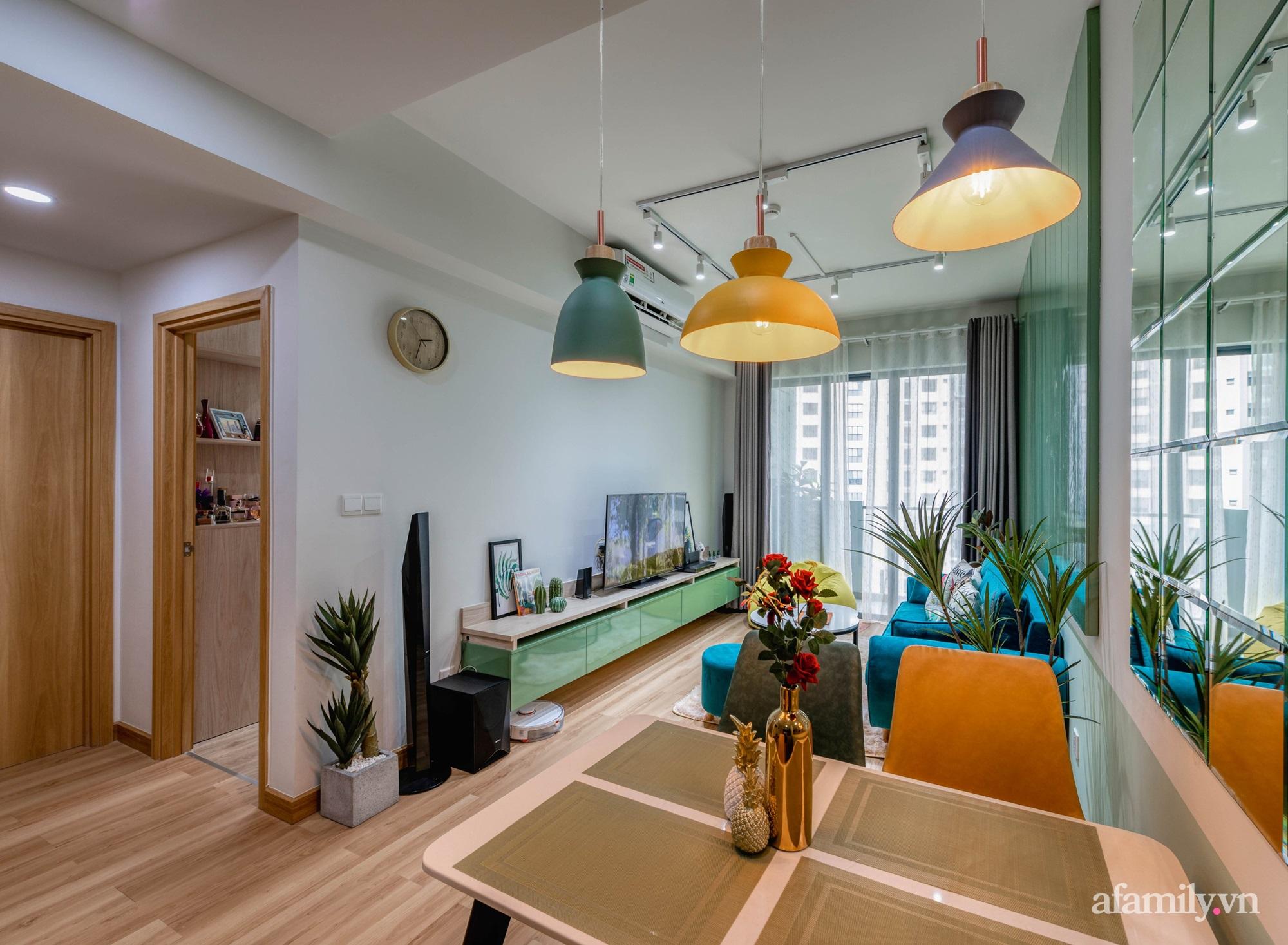 Căn hộ 69m² tạo dấu ấn đặc biệt với phong cách Tropical có chi phí thi công 180 triệu đồng ở Sài Gòn - Ảnh 2.