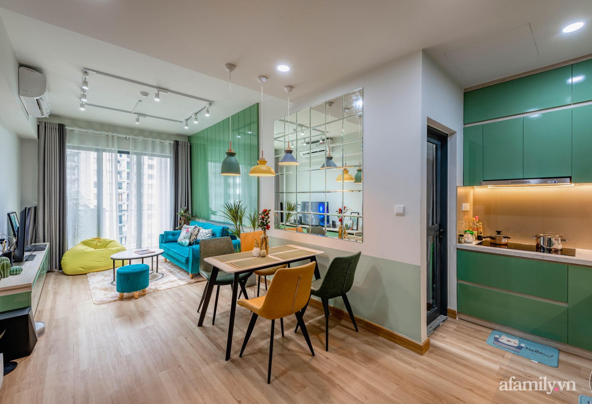 Căn hộ 69m² tạo dấu ấn đặc biệt với phong cách Tropical có chi phí thi công 180 triệu đồng ở Sài Gòn - Ảnh 1.