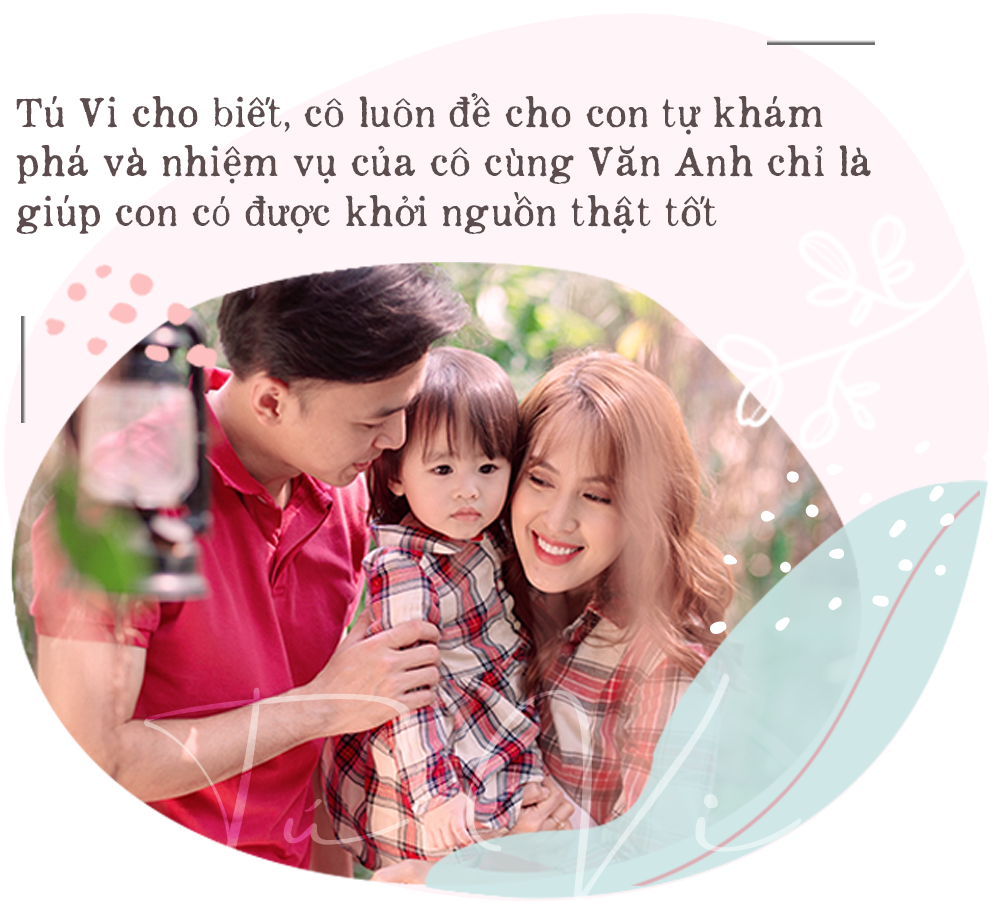 """Vợ chồng cùng là diễn viên, hot mom Tú Vi hạnh phúc tiết lộ tiềm năng đặc biệt đúng chuẩn """"con nhà nòi"""" của công chúa nhỏ dù mới hơn 2 tuổi - Ảnh 5."""