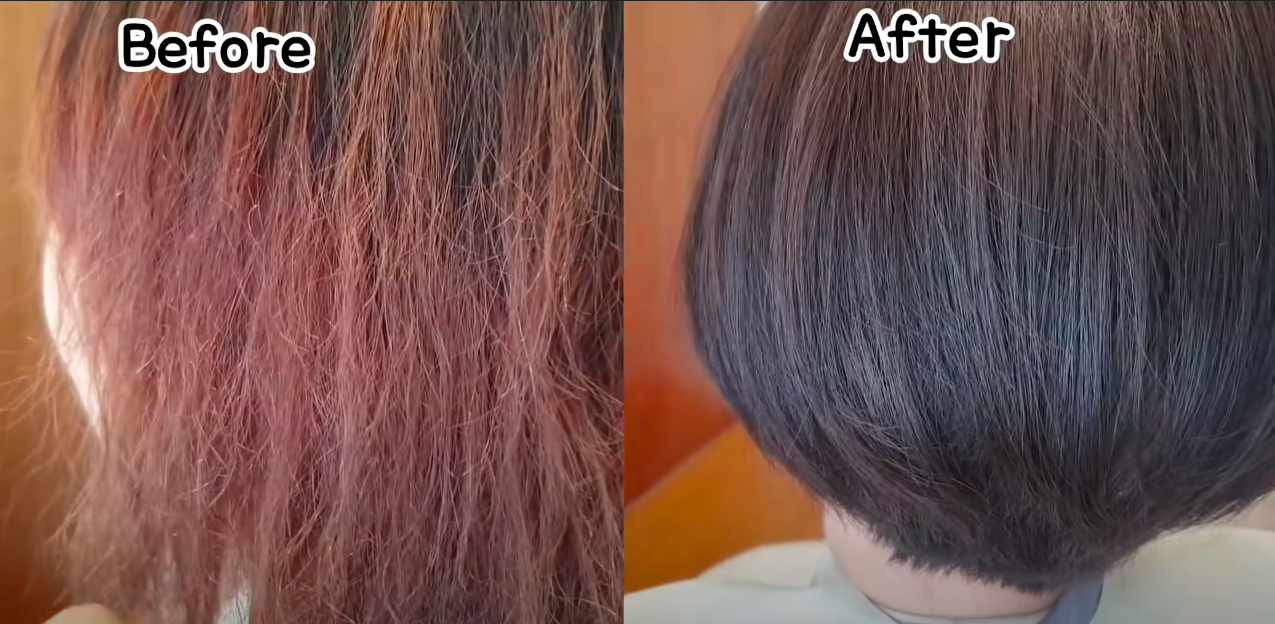 Tóc cháy sun hết vào do nhuộm tẩy tóc quá nhiều, nàng béo được cứu vớt bởi một mái tóc sang chảnh không ngờ - Ảnh 5.