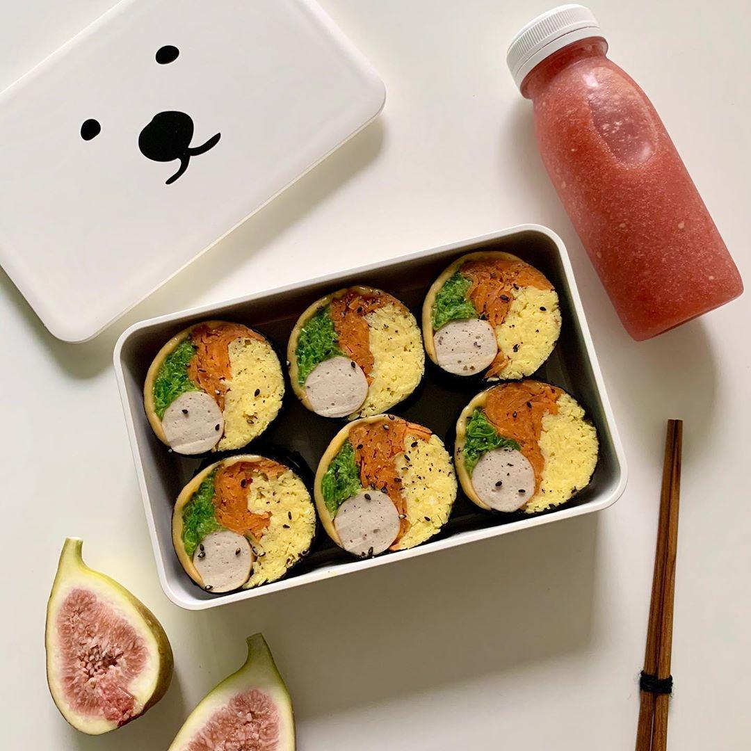"""Trend mới của gái Hàn: Ăn kimbab """"thay cơm bằng trứng"""" để giảm cân, chị em mau vào hóng ngay còn kịp - Ảnh 3."""