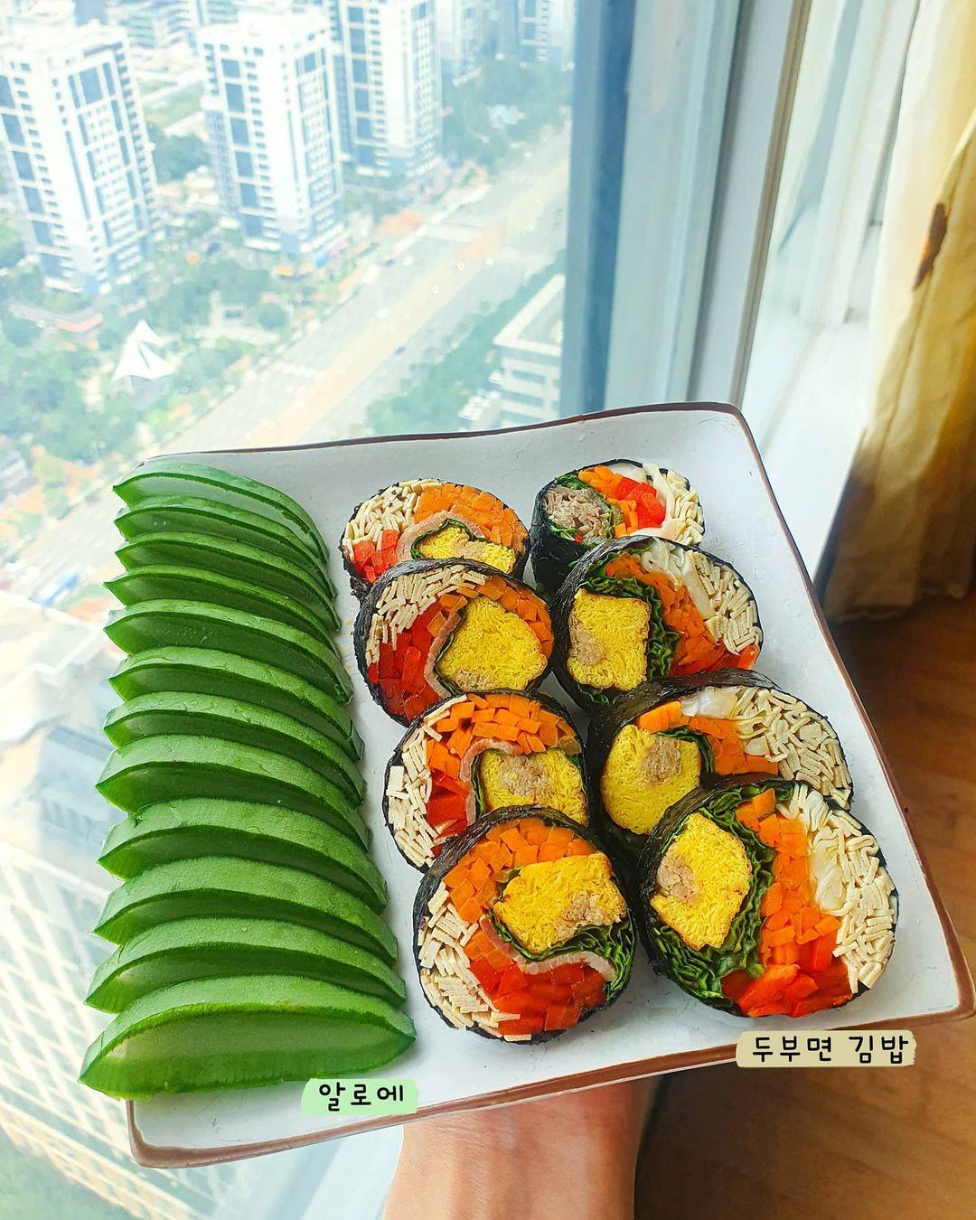 """Trend mới của gái Hàn: Ăn kimbab """"thay cơm bằng trứng"""" để giảm cân, chị em mau vào hóng ngay còn kịp - Ảnh 5."""