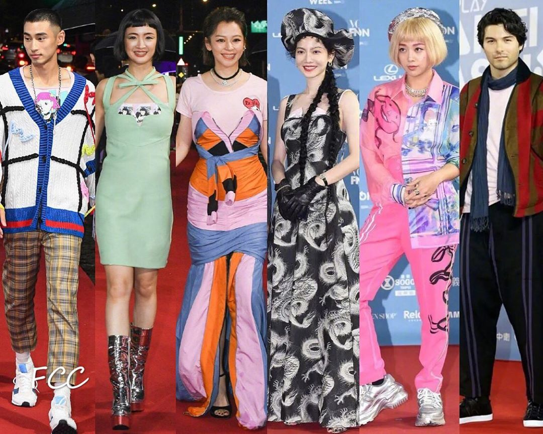 """2 nữ thần thanh xuân gây thất vọng tại Tuần lễ thời trang Đài Bắc 2020: Nàng đơ như """"robot"""", nàng dìm dáng thậm tệ với bộ đầm """"chằng chịt"""" - Ảnh 6."""