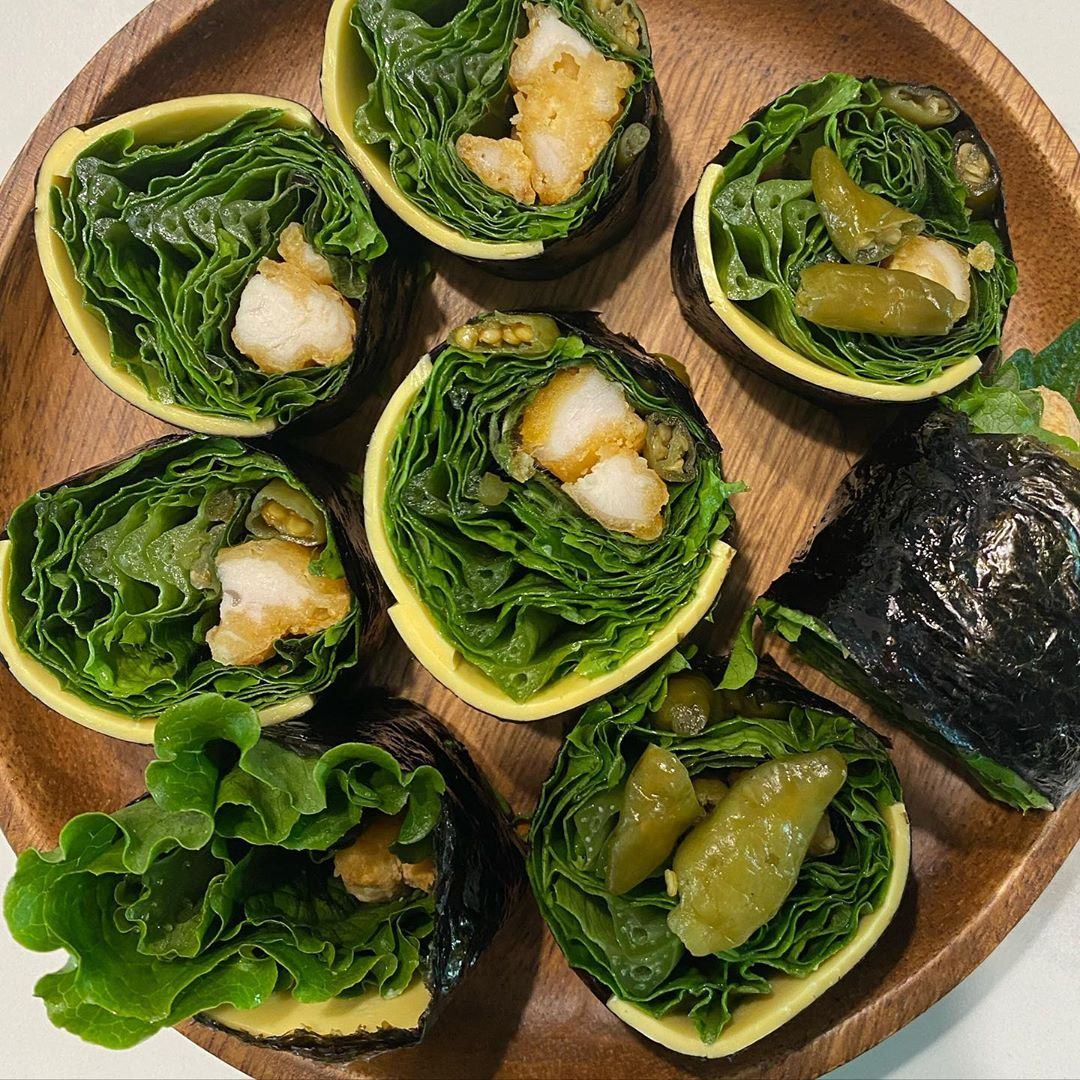 """Trend mới của gái Hàn: Ăn kimbab """"thay cơm bằng trứng"""" để giảm cân, chị em mau vào hóng ngay còn kịp - Ảnh 7."""