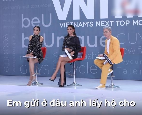 """Vietnam's Next Top Model: Gái xinh Bến Tre ngáo ngơ đi thi người mẫu, Nam Trung thảng thốt """"đĩa bay của em ở đâu?"""" - Ảnh 5."""