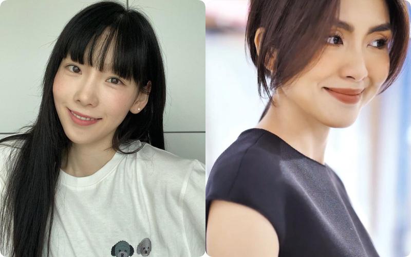 """Taeyeon và Hà Tăng """"khởi xướng"""" xu hướng tóc mái che mặt bánh bao, trán sân bay"""