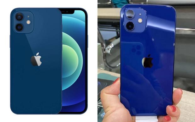 """iPhone 12 màu xanh dương của Apple dính lời nguyền """"ảnh trên mạng và thực tế"""", dân mạng thất vọng ê chề, ném đá tới tấp - Ảnh 2."""