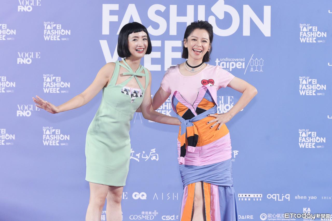 """2 nữ thần thanh xuân gây thất vọng tại Tuần lễ thời trang Đài Bắc 2020: Nàng đơ như """"robot"""", nàng dìm dáng thậm tệ với bộ đầm """"chằng chịt"""" - Ảnh 5."""